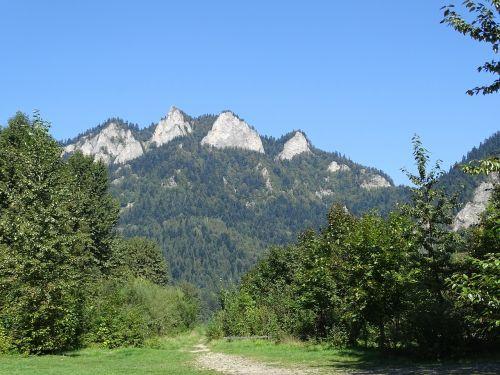 the three crowns pieniny mountains