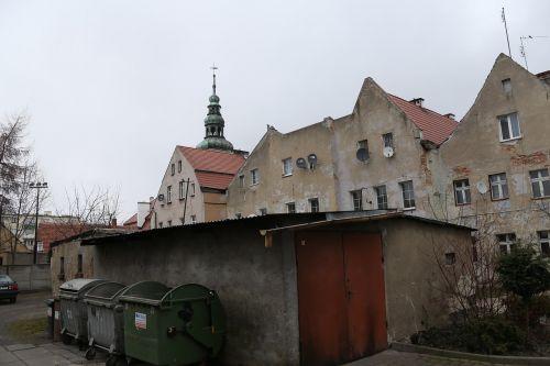 the town hall bytom nadodrzanski townhouses