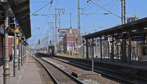 the train station is empty east frisia track climb