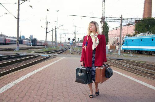 the transportation system train cars