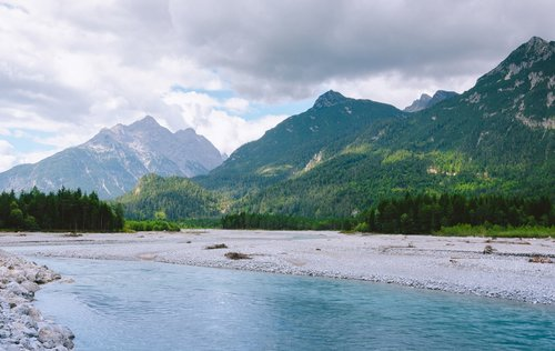 the tyrolean lech valley  austria  tyrol