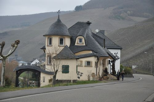 the valley of the moselle house germany