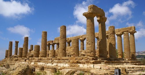 the valley of the temples  agrigento  sicily