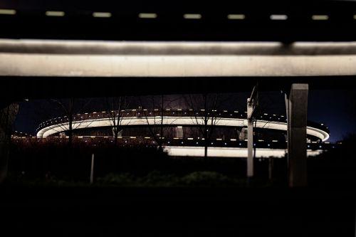 the viaduct night arc