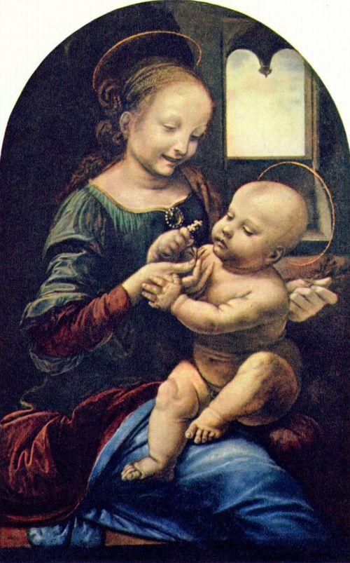 the virgin and child leonardo de vinci boiler and jesus