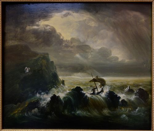 the voyage of life thomas cole painting