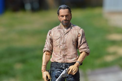 the walking dead rick grimes action figure