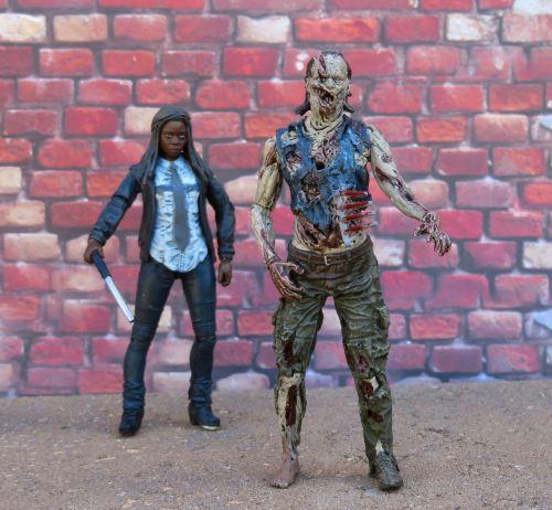 the walking dead zombie michonne