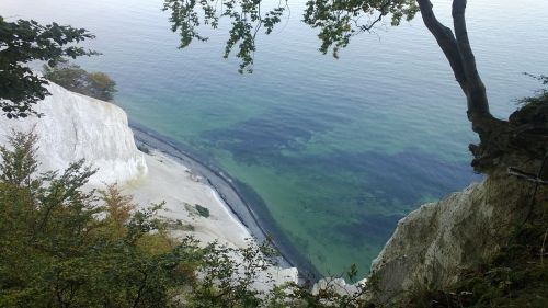 the white cliffs of møn chalk liselund