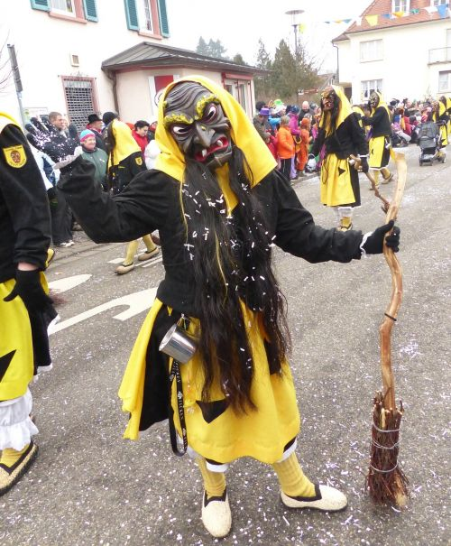 the witch shrove monday strassenfasnet