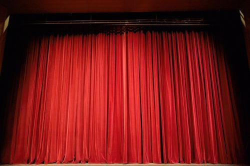 theater curtain stage