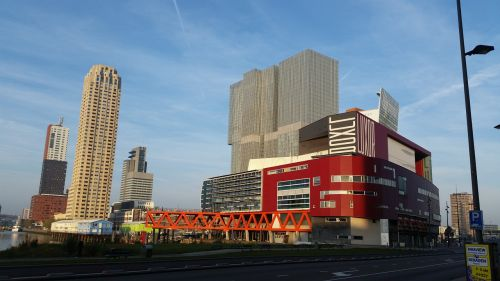 theater zuidplein wilhelmina pier rotterdam south