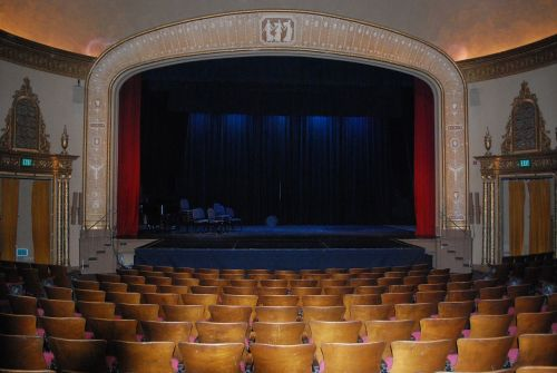 theatre theater stage