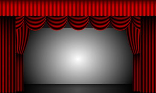 theatre curtains stage