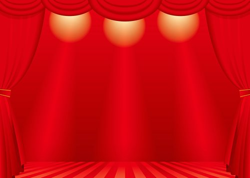 theatre stage  theater curtains  theater