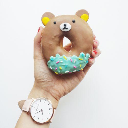 donut cute kid