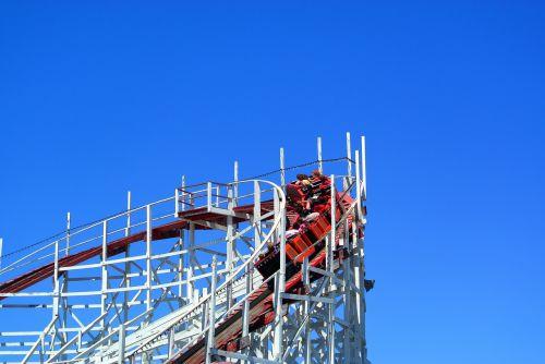 theme park roller coaster entertainment
