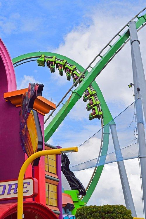 theme park  rollercoaster  leisure
