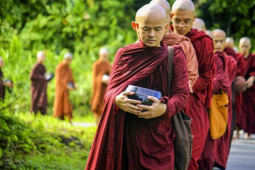theravada buddhism theravada monks saṅgha