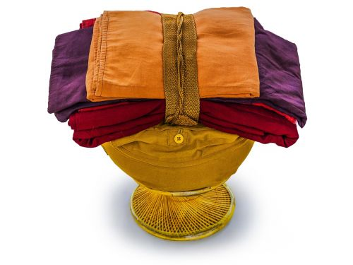 theravada buddhism bowl and robes bowl with robes