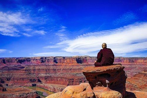 theravada buddhism  meditation  dead horse point
