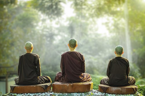 theravada buddhism  nuns  meditation