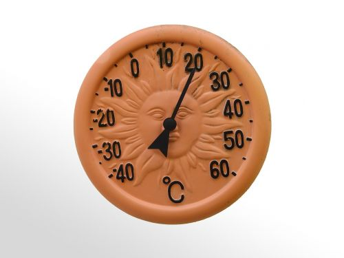 thermometer barometer clock