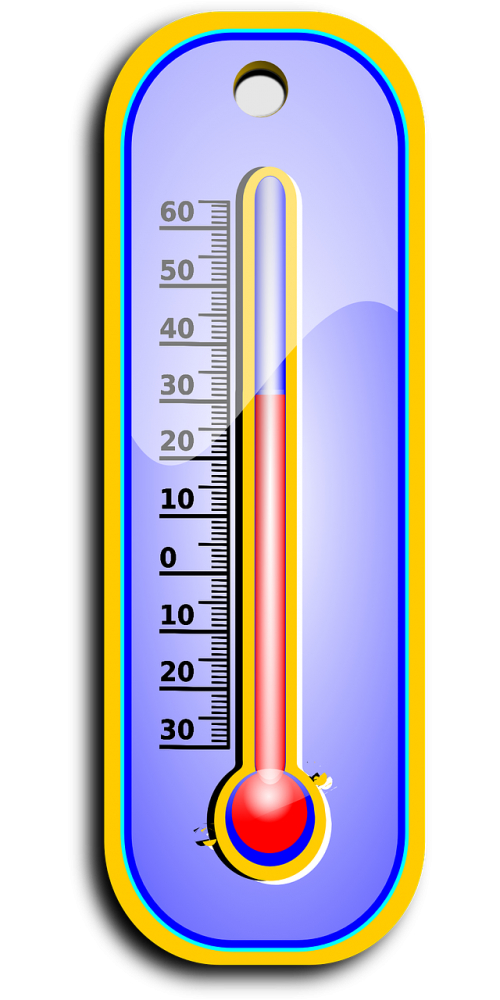 thermometer degree hot