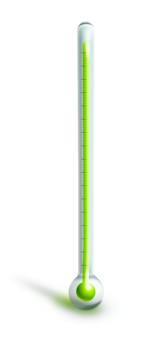 thermometer transparent creation