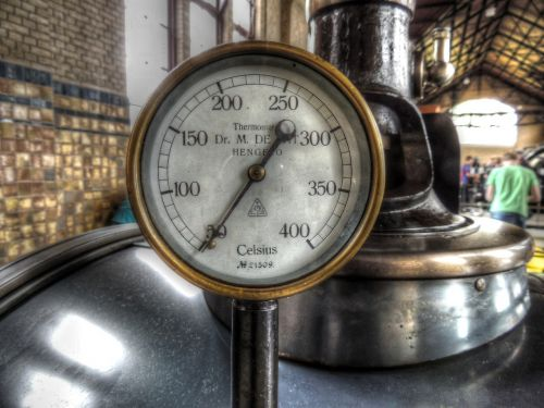 thermometer gauge steam boiler