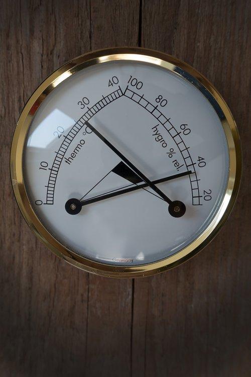 thermometer  hygrometer  instrument