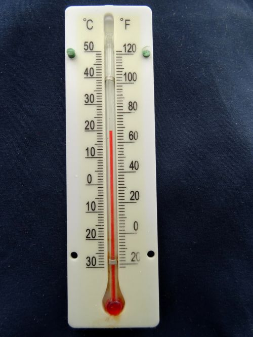 Thermometer At Room Temperature