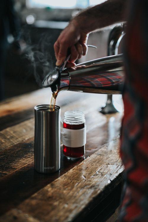 thermos heater coffee