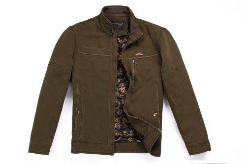 thickened jacket khaki