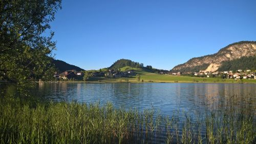 thiersee summer tirol lake