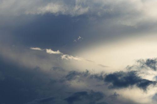 Thin Strip Of White Cloud