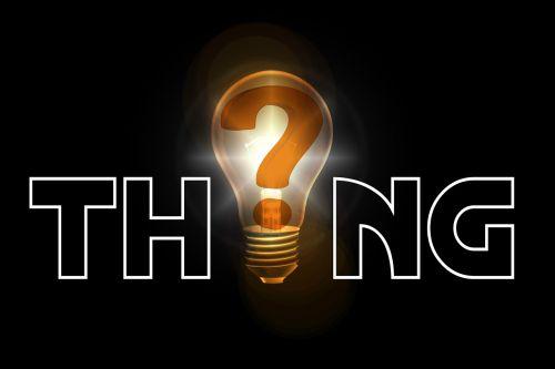 thing development question mark