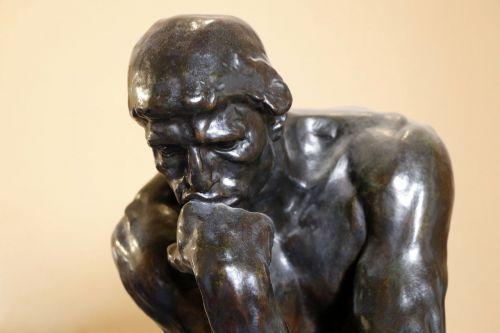 think statue philosophy
