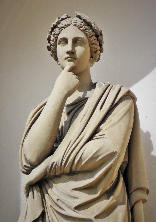thinker  statue  thoughtful