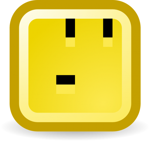 thinking smiley computer