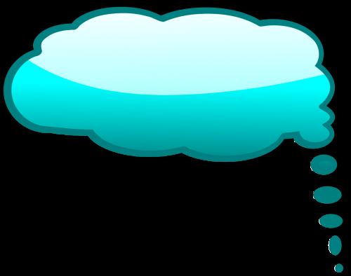 thinking bubble idea