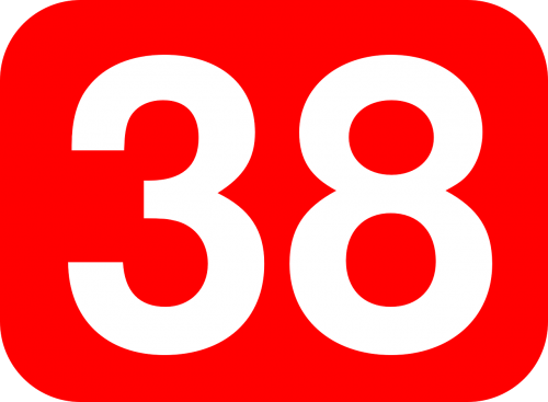 thirty eight number
