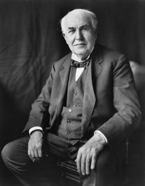 thomas alva edison inventor 1922