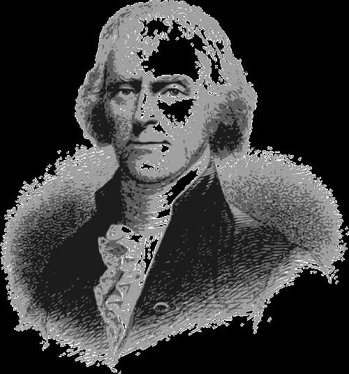 thomas jefferson president america