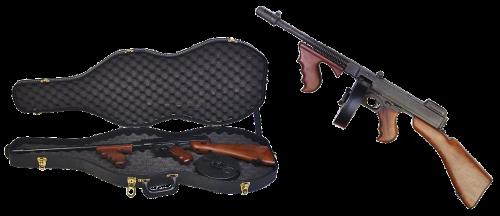 thompson submachine gun case firearms
