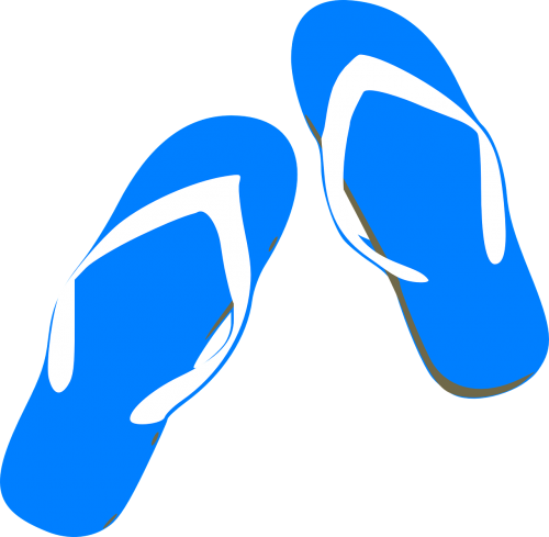 thongs flip-flops beach