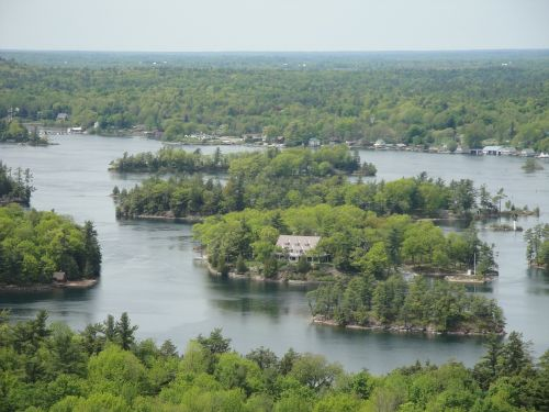 thousand island island river