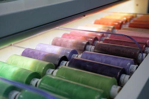 thread fadenrolle colorful