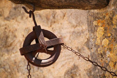 thread chain hoist wheel
