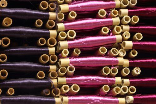 sriegis,medžiaga,siuvimas,drabužiai,ritė,bambukas,tekstilė,medžiaga,Marokas,parduotuvė,krūva